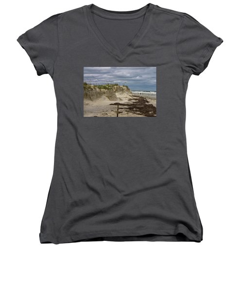 Sand Dunes Women's V-Neck (Athletic Fit)