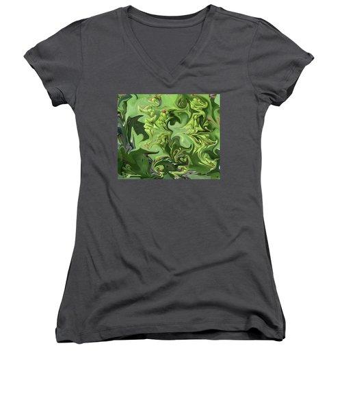 Sanibel Seagrapes Women's V-Neck T-Shirt