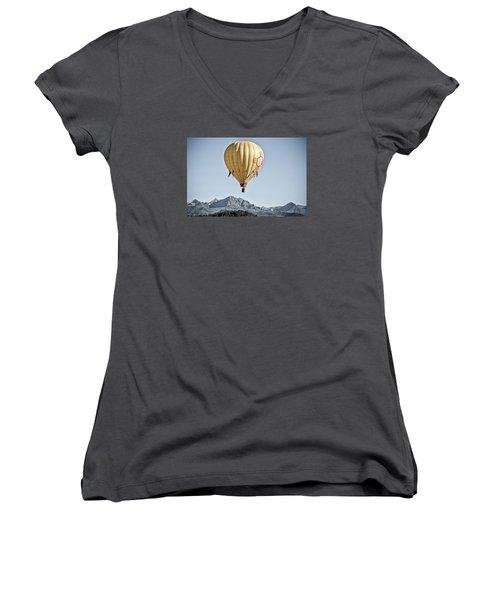 Santa Fe Air Force Women's V-Neck T-Shirt
