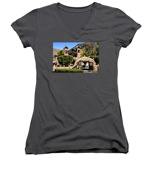 Santuario De Chimayo Women's V-Neck
