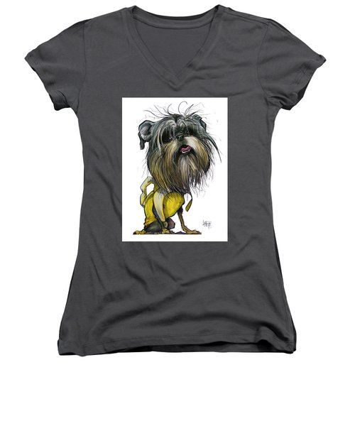 Sao The Banana Man Women's V-Neck (Athletic Fit)