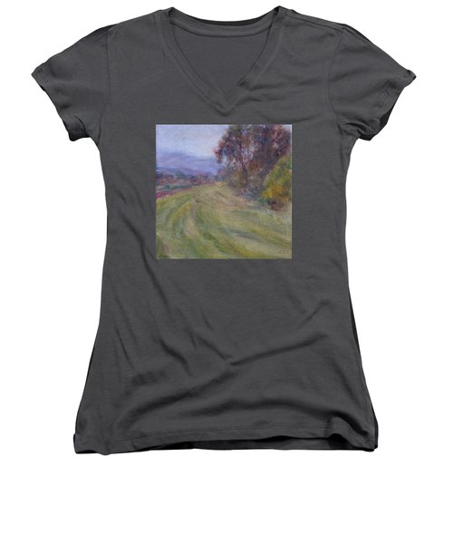 Sauvie Green Women's V-Neck T-Shirt
