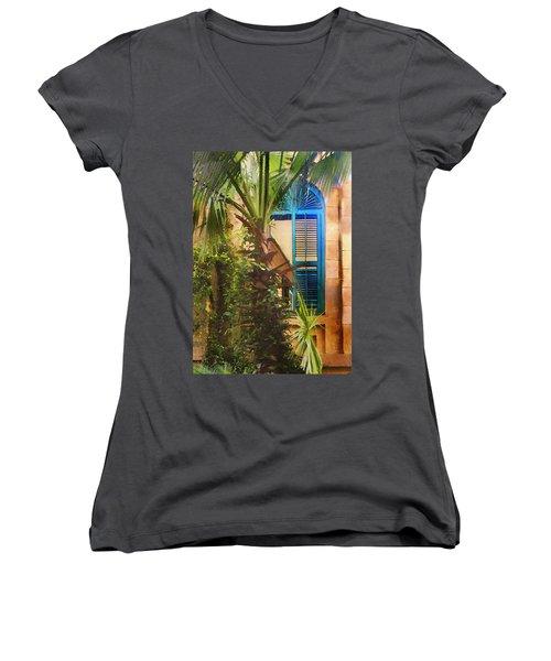 Savannah Window Women's V-Neck T-Shirt