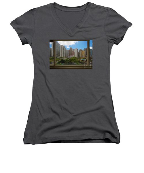 Scapes Of Our Lives #2 Women's V-Neck