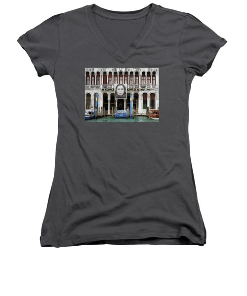 Scapes Of Our Lives #3 Women's V-Neck