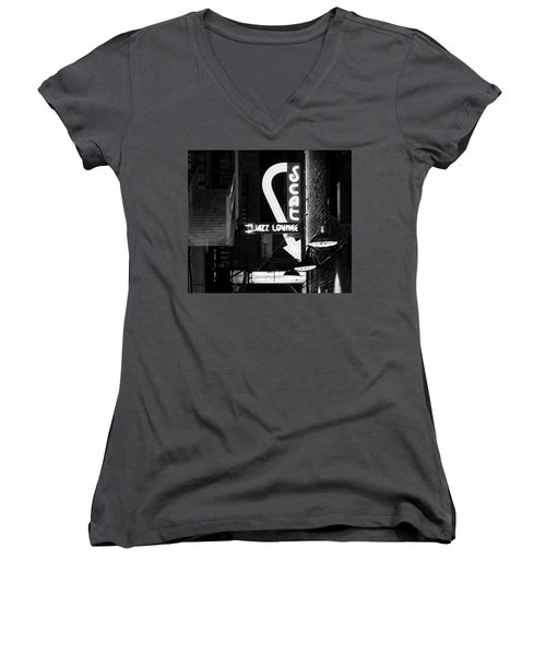 Scat Jazz Bw 11217 Women's V-Neck