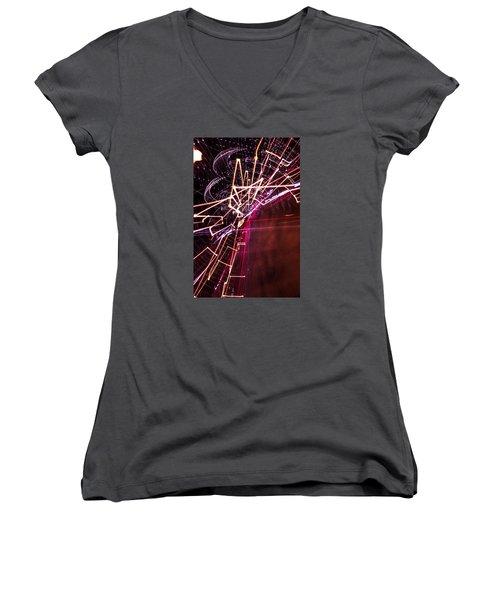 Scatter  Women's V-Neck T-Shirt (Junior Cut)