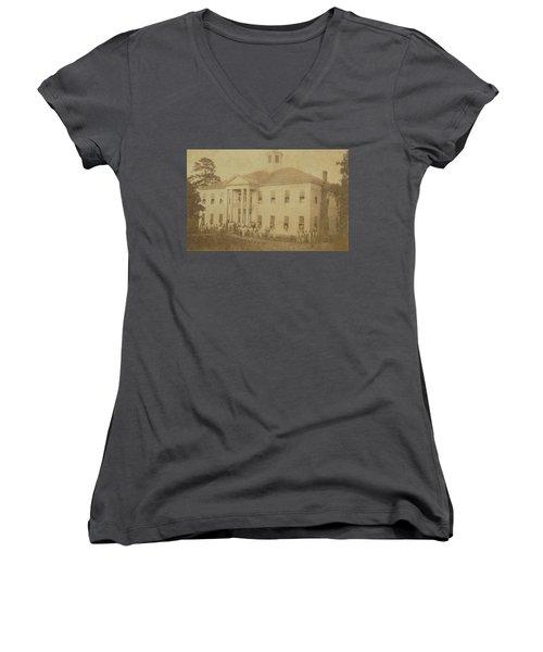 School 1901 Women's V-Neck (Athletic Fit)