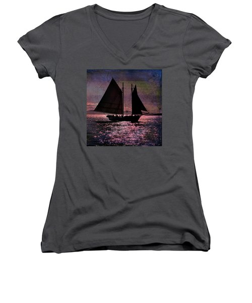 Schooner Mercantile Women's V-Neck (Athletic Fit)