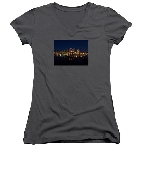 Science World Nocturnal Women's V-Neck