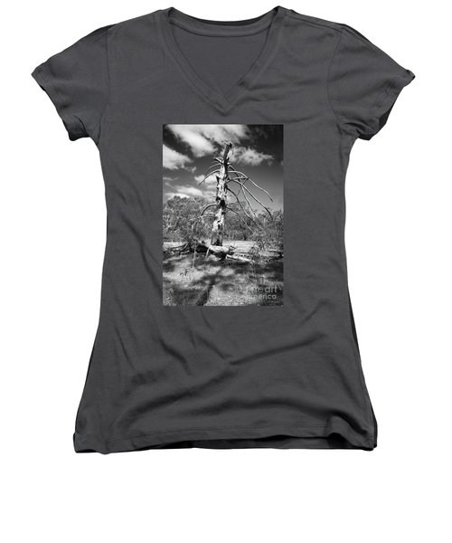 Sculpted By Time Women's V-Neck (Athletic Fit)