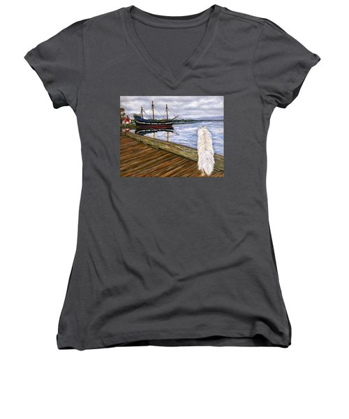 Sea Dog Women's V-Neck (Athletic Fit)