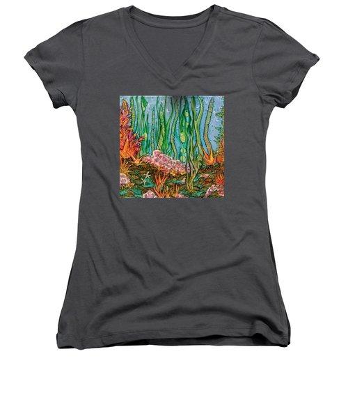 Sea Life Women's V-Neck