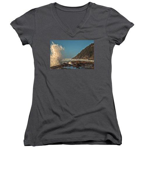 Sea Monster Women's V-Neck T-Shirt
