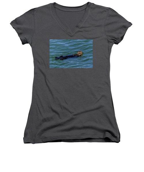 Sea Otter Women's V-Neck