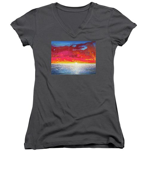Sea Splendor Women's V-Neck (Athletic Fit)