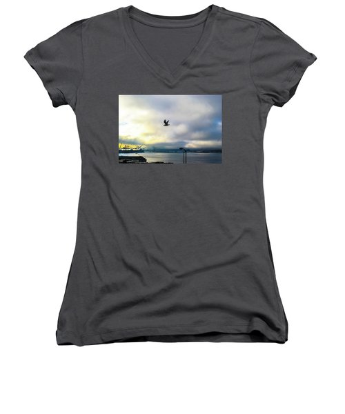 Seahawkin Women's V-Neck (Athletic Fit)