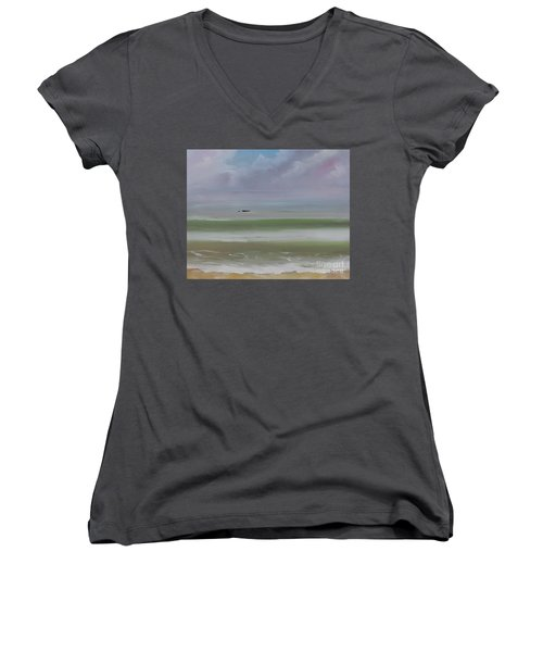 Seal Rock Women's V-Neck