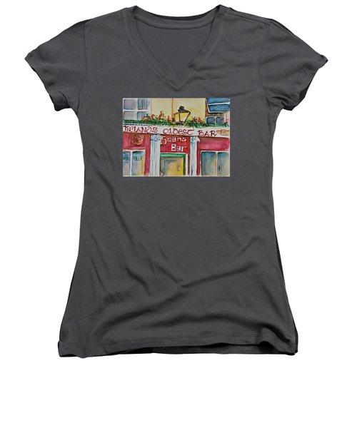 Seans Irish Pub Women's V-Neck T-Shirt