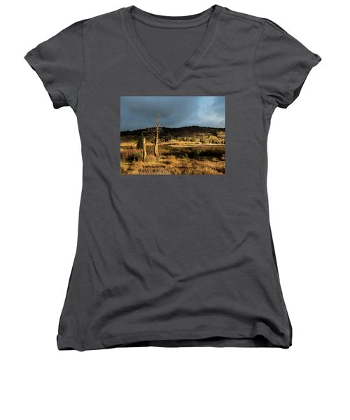 Season Of The Witch Women's V-Neck