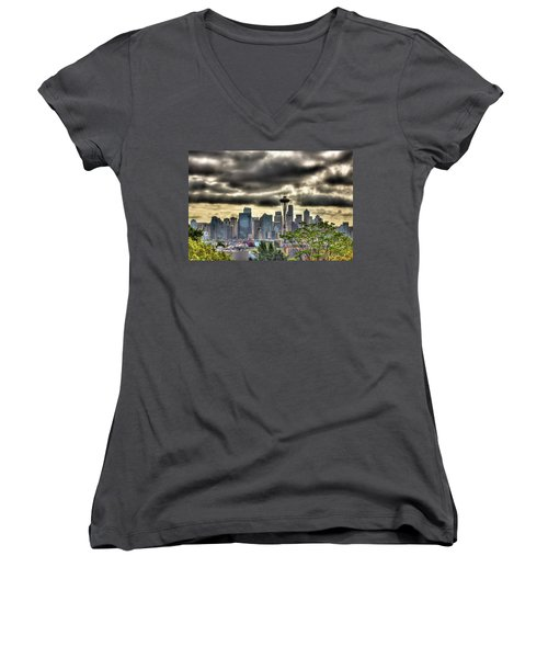 Seattle Washington Women's V-Neck