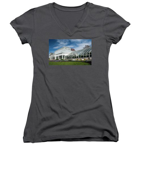 Seattle Washington Park Arboretum Women's V-Neck (Athletic Fit)