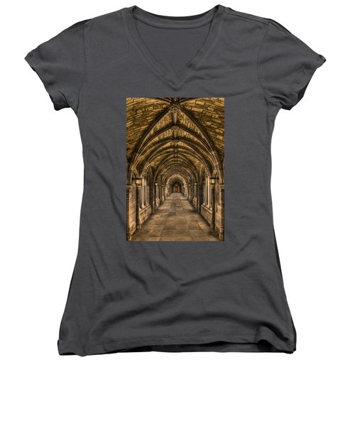 Seclusion Women's V-Neck T-Shirt