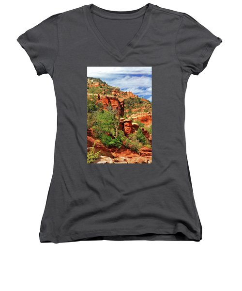Sedona I Women's V-Neck (Athletic Fit)