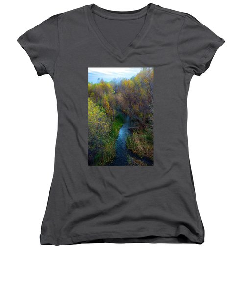 Sedona Stream Women's V-Neck (Athletic Fit)