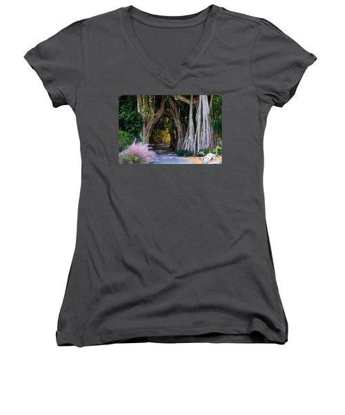 Selby Secret Garden 2 Women's V-Neck