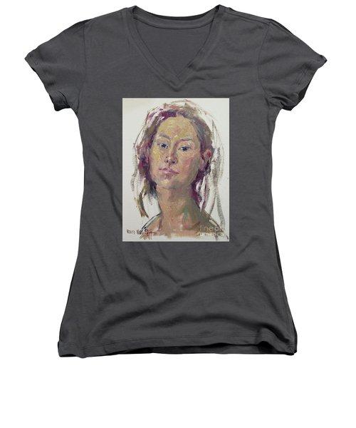 Self Portrait 1602 Women's V-Neck (Athletic Fit)
