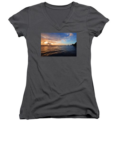 Semblance 3769 Women's V-Neck