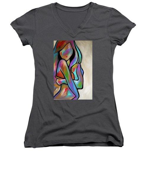 Sensual Calm Women's V-Neck T-Shirt