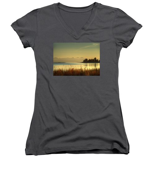 September Morn Women's V-Neck