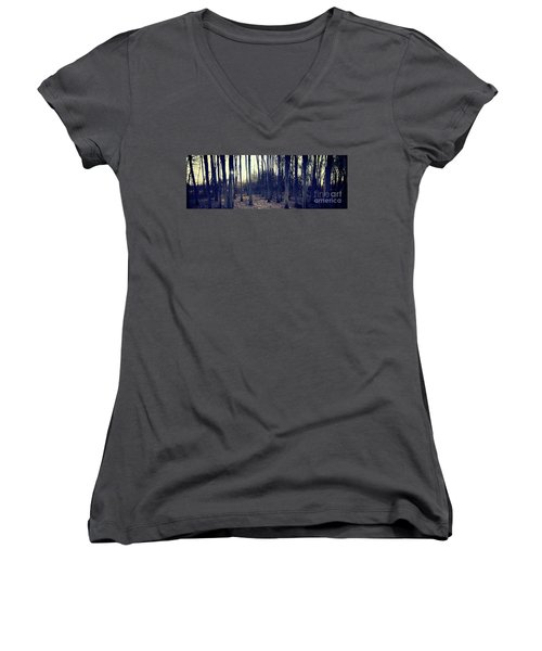 Series Silent Woods 1 Women's V-Neck (Athletic Fit)