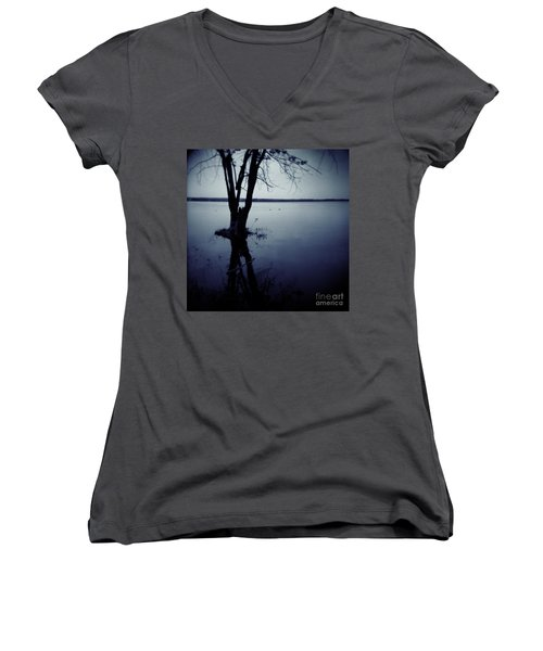 Series Wood And Water 2 Women's V-Neck (Athletic Fit)