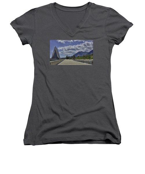 Seventeen Spires Women's V-Neck T-Shirt
