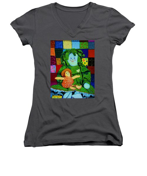 Sew Sweet Women's V-Neck