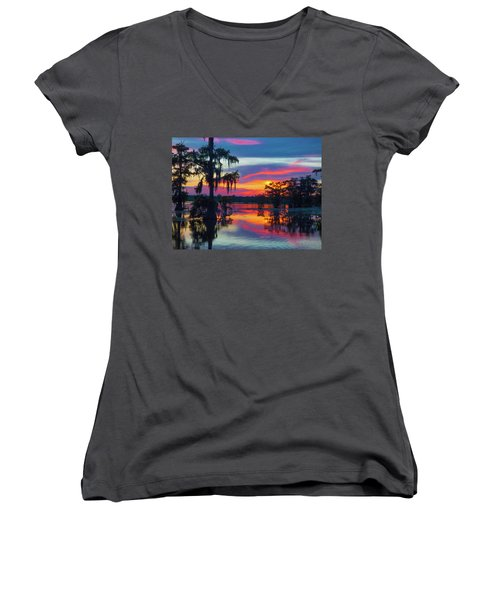 Swamp Sexy Women's V-Neck (Athletic Fit)