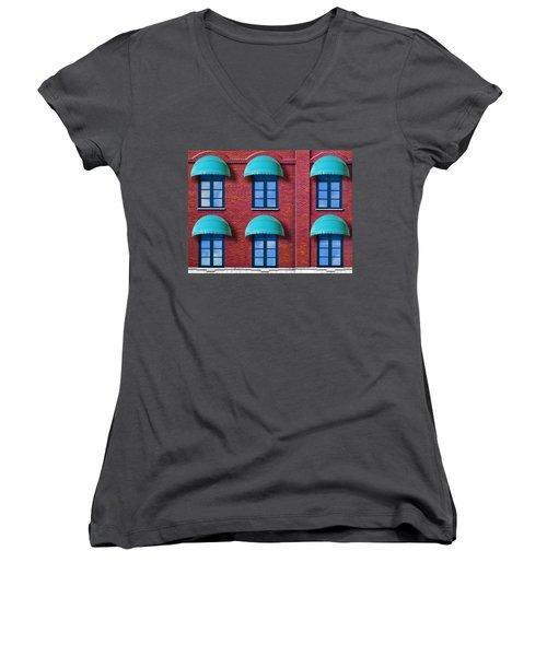 Shade Women's V-Neck T-Shirt
