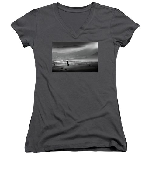 Shadow Of A Doubt Women's V-Neck