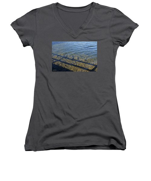 Shadow Play Women's V-Neck T-Shirt