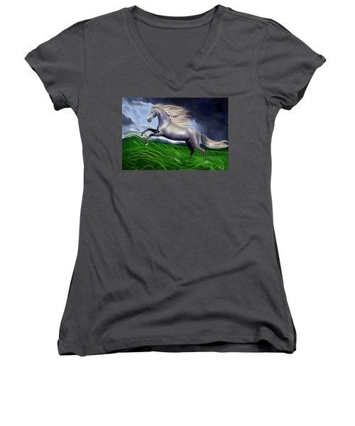 Shadowfax Women's V-Neck T-Shirt