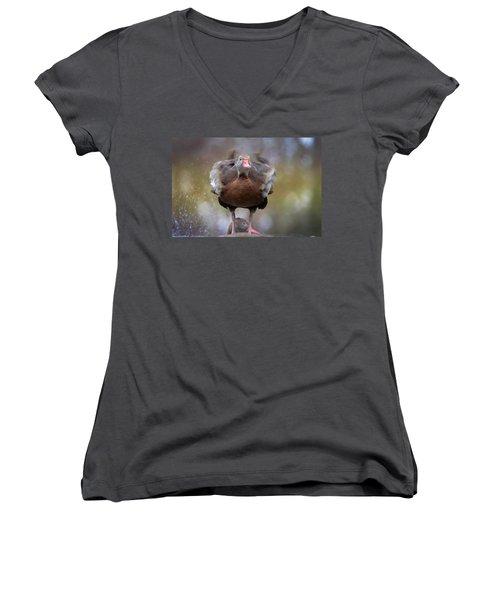 Shake Your Booty Women's V-Neck T-Shirt