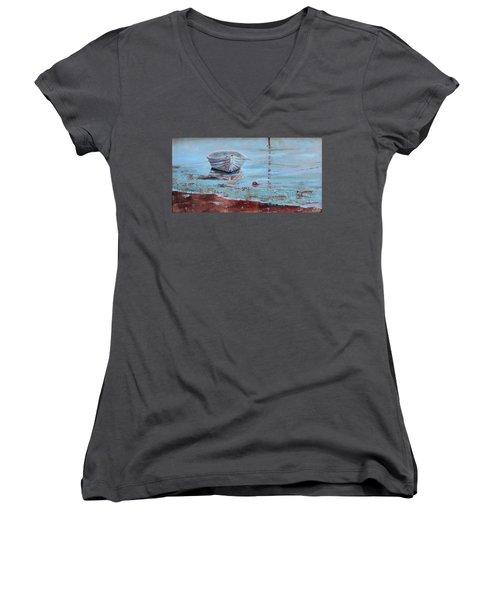 Shallow Tether Women's V-Neck T-Shirt