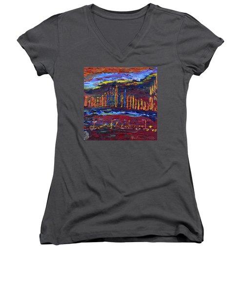 Shanah Tovah Women's V-Neck T-Shirt