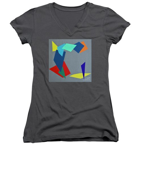 Shattered Women's V-Neck