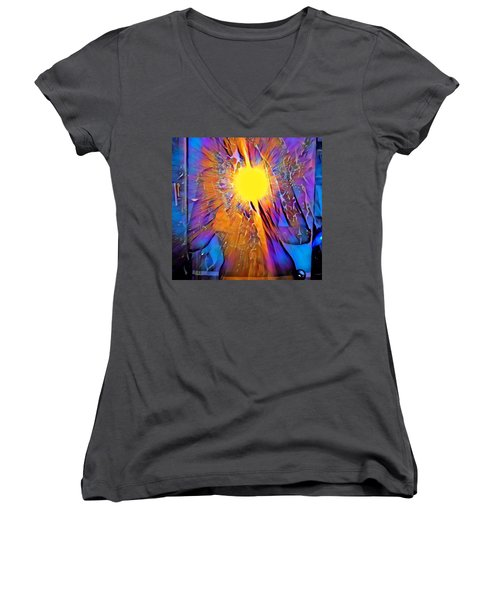 Shattering Perceptions   Women's V-Neck T-Shirt
