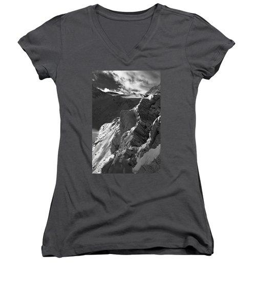 Sheer Alps Women's V-Neck