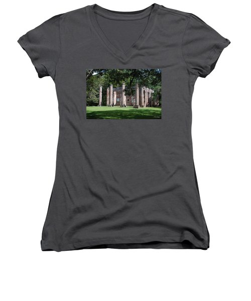 Sheldon Church 1 Women's V-Neck T-Shirt